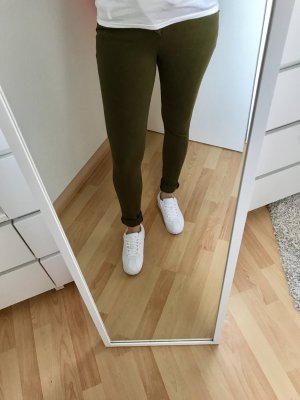 Jeggings olive green-gold-colored
