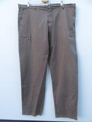 Hose kaki oliv Gr. 52 54 Vintage Retro