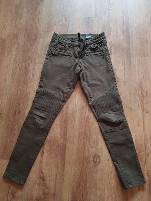 H&M Biker jeans veelkleurig