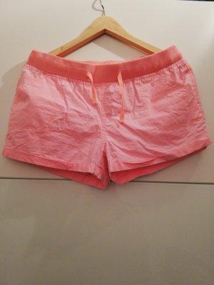 Denim Co. Shorts rosa neón