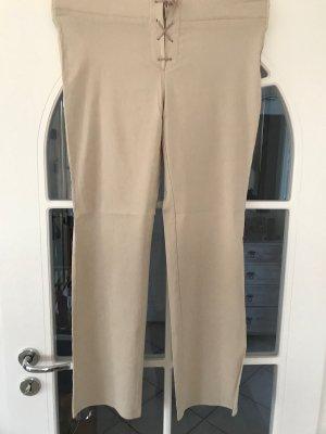 Pantalon strech crème