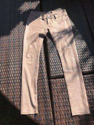 Pantalón elástico nude