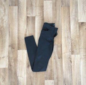 Noisy May Pantalone in pelle nero