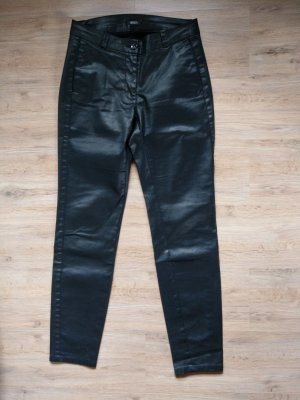 Crisca Leather Trousers black