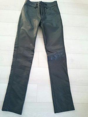 Hose Lederoptik schwarz, Gr.32/XS