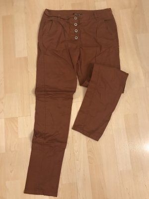 Made in Italy Pantalon cognac