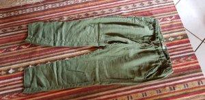 Hose Leinen H&M gute Qualität olivgrün