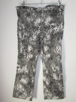 Vintage Marlene Trousers white-silver-colored