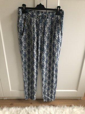 Only Harem Pants white-dark blue