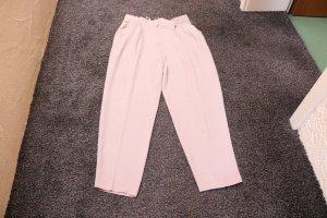 Pantalón de pinza alto rosa empolvado Viscosa