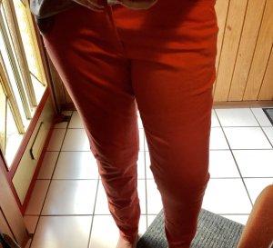 Mango Peg Top Trousers apricot
