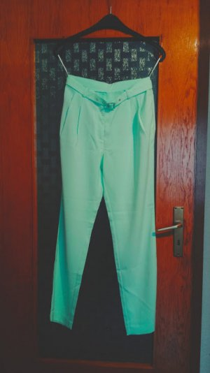 Pantalone elasticizzato menta