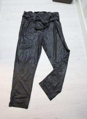 Pantalón de cintura alta negro