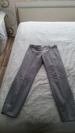 3/4 Length Trousers white-blue