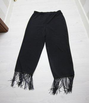Boohoo Hoge taille broek zwart