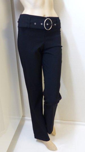 Hose mit Gürtel, stretch, 70 % Viskose, Gr. 36(34)