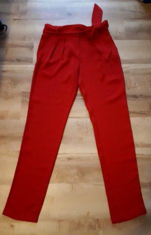 Hose mit Gurtel von Mango Suit