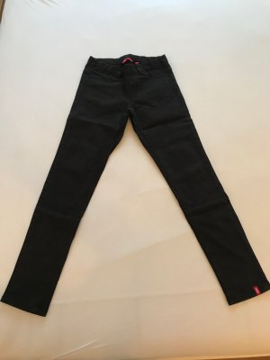 edc by Esprit Stretch broek zwart bruin-taupe