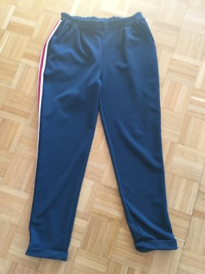 Hose mit Streifen dunkelgrün 38