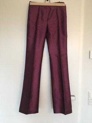 Mango Pantalon taille haute violet