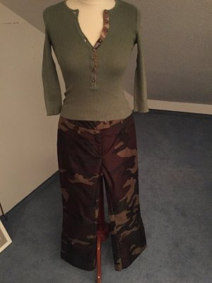Hose Moschino Culotte Camouflage Größe S