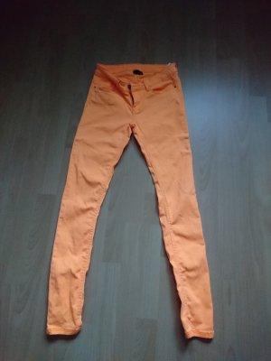 Hose neon orange Größe 36