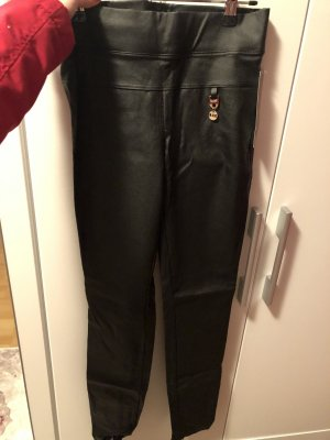 Infinity woman Leather Trousers black