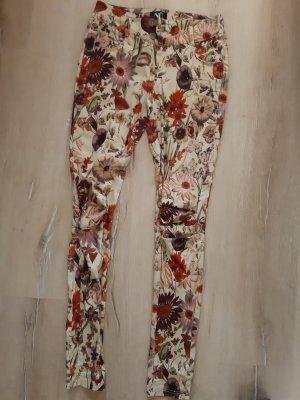NÜ Denmark Pantalón de tubo multicolor Algodón