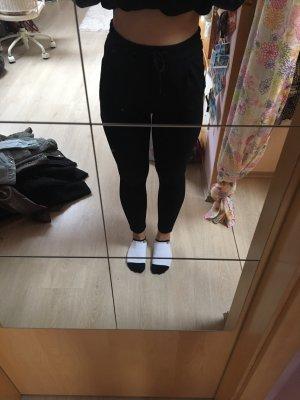 Only Pantalón de cintura alta negro