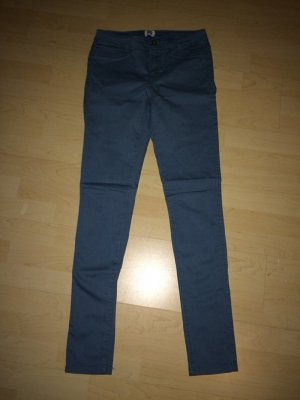 Only Peg Top Trousers steel blue