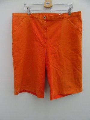 Ulla Popken Pantalon 3/4 orange fluo