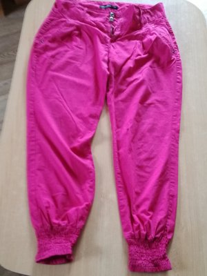Fishbone Pantalon large rose