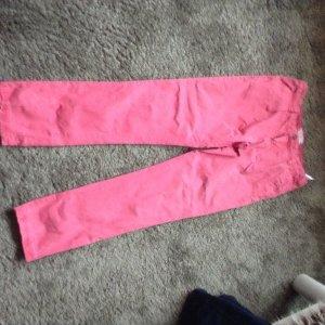 Hose, pink mit Eingrifftaschen