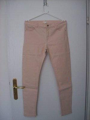 H&M Pantalone elasticizzato color carne