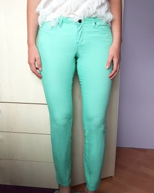 AJC Drainpipe Trousers mint mixture fibre