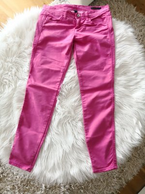 Benetton Jeans Trousers pink mixture fibre
