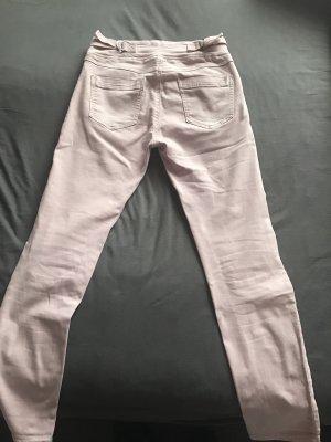 Pantalon cigarette rosé
