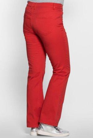 b.p.c. Bonprix Collection Pantalon rouge
