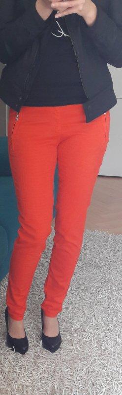 Hose, rot, Zara, Größe 38