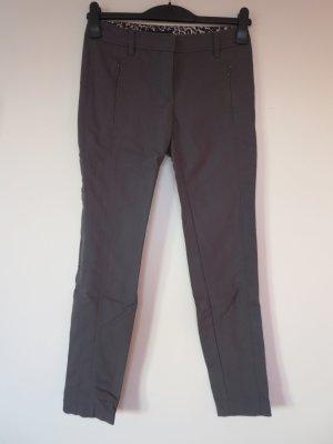 Marc Cain Drainpipe Trousers grey brown mixture fibre