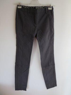 Marc Cain Drainpipe Trousers anthracite mixture fibre