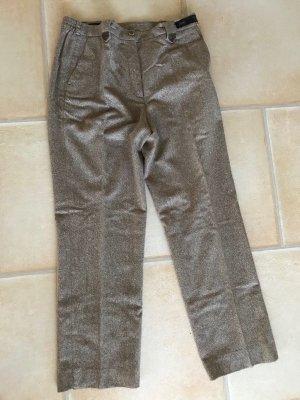 Wollen broek lichtbruin-grijs-bruin Scheerwol