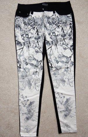 Laura Scott Stretch Trousers multicolored cotton