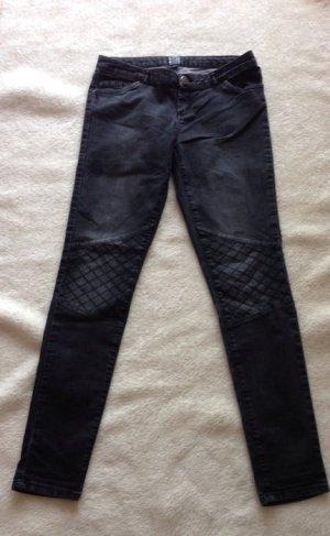 Hose, schwarz grau, Jeans, 36, Walk that Talk