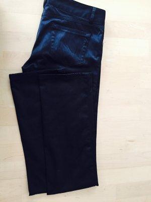 Hose, schwarz leicht glänzend