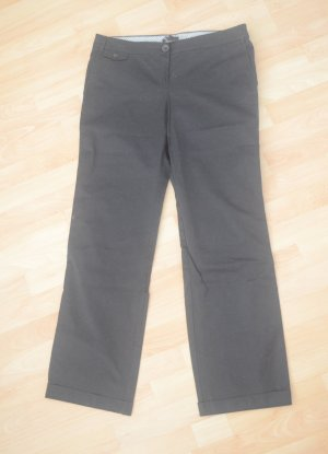 Mango Marlene Trousers black cotton