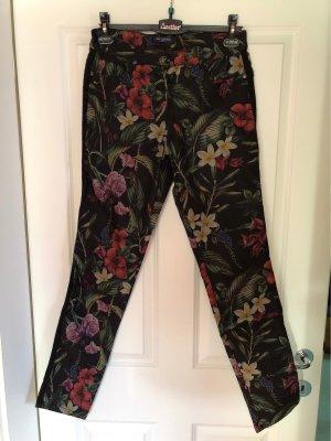 Sa.Hara Pantalon cinq poches multicolore