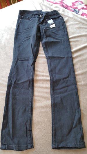 Hose schwarz Skinny S 36 neu