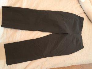 Seductive 7/8 Length Trousers dark brown mixture fibre