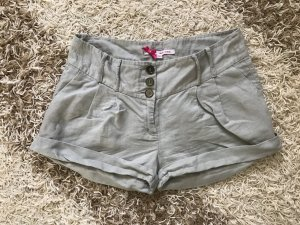 Hose Shorts beige grau Gr. 34 XS Tally Weijl